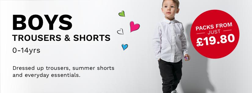 Boys Trousers & Shorts