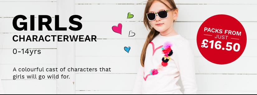 Girls Characterwear