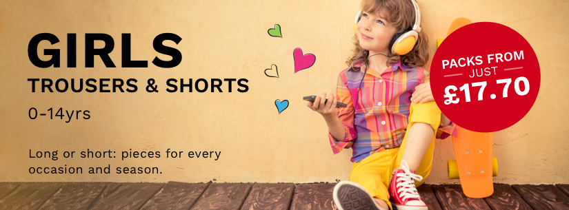 Girls Trousers & Shorts