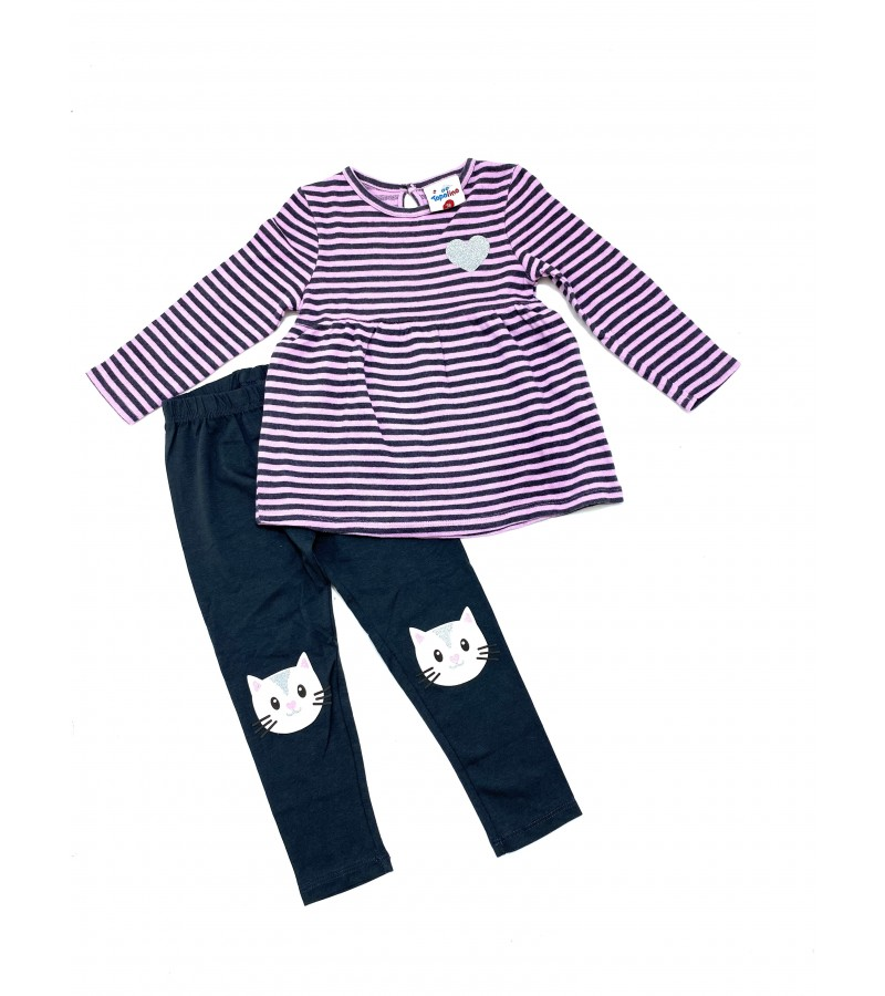 REDUCED PRICE Ex Store Baby Girls Top and Leggings Set PACK OF 10