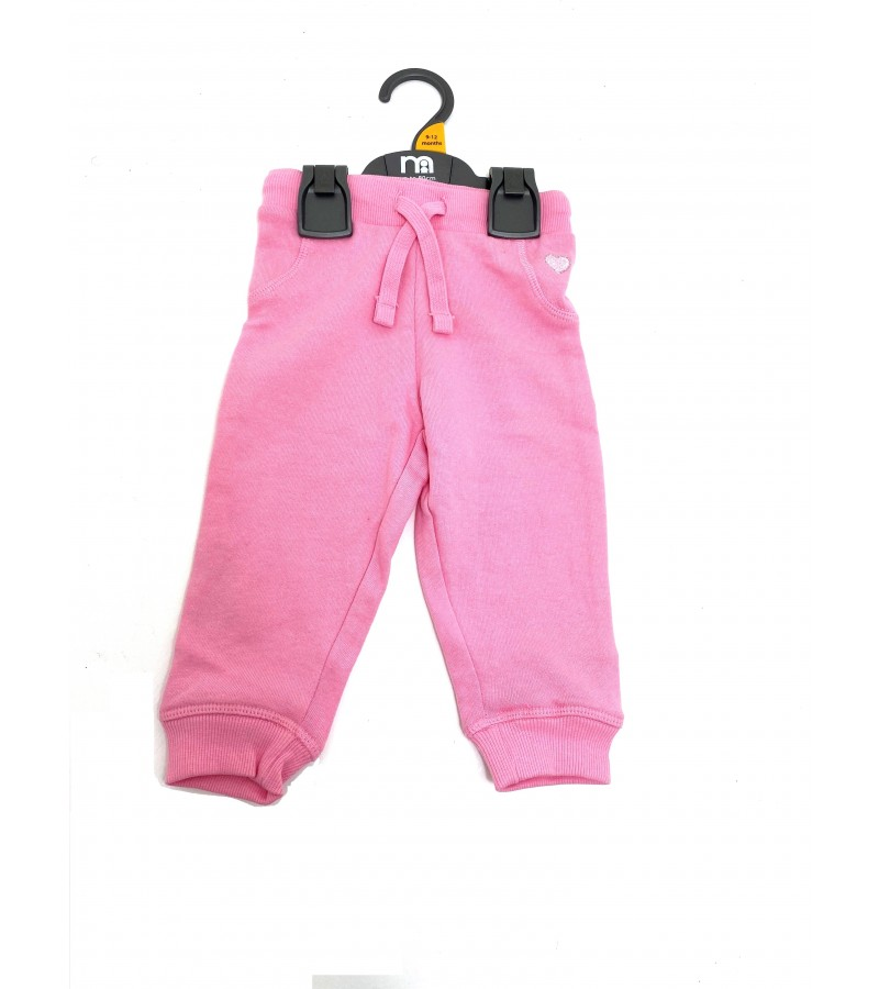 Ex M-e Baby Girls Pink Jogpants PACK OF 6