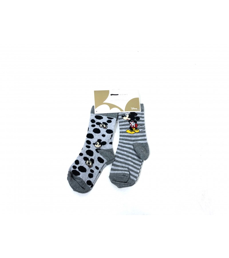 Disney  'Mickey Mouse' Boys 2 Pack of Socks PACK OF 12