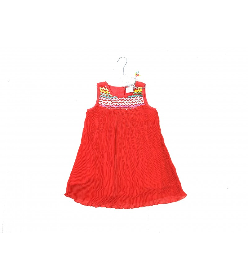 REDUCED-PRICE Mini Moi Girls Orange Sequin Dress PACK OF 8