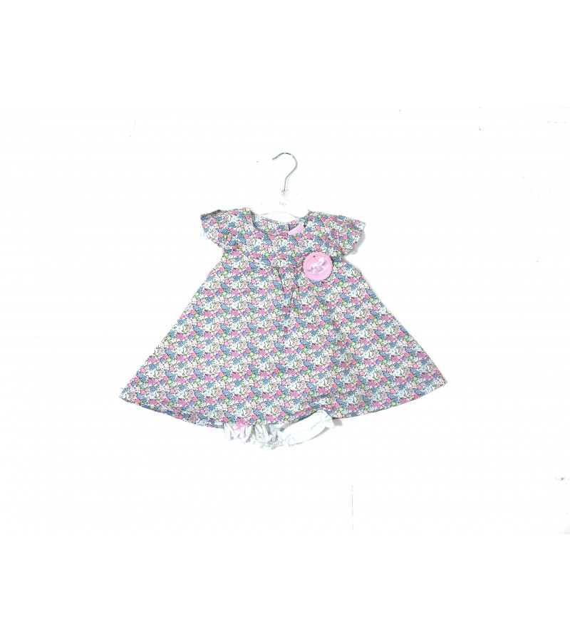 REDUCED PRICE Rock a Bye Baby Baby Girls 'Floral' Dress and Knickers Set PACK OF 6