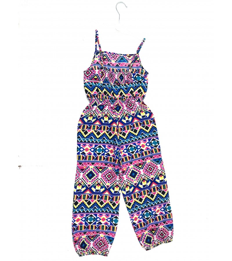 Mini Moi Multi 'Patterned' Girls Jumpsuits PACK OF 8
