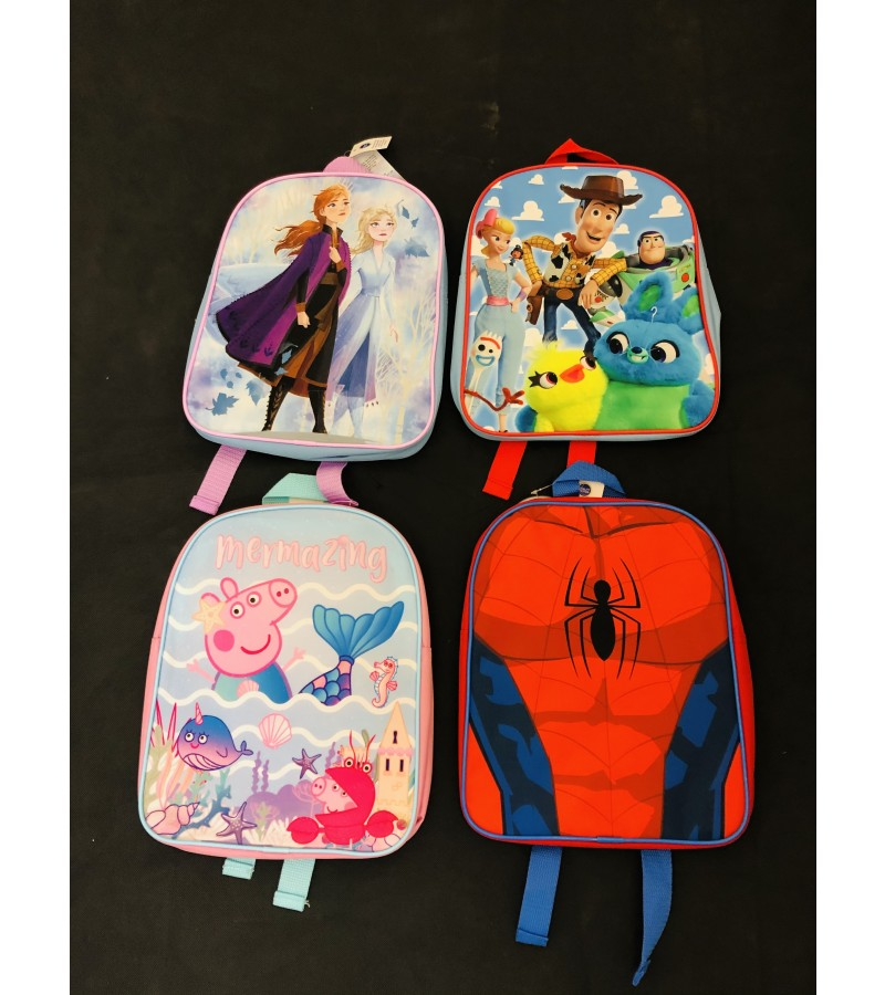 Assorted Characters Back Packs PACK OF 24