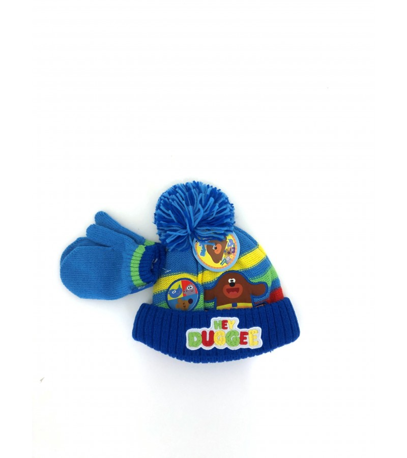 Hey Duggee Boys Hat and Mittens Set PACK OF 6