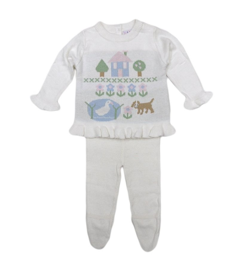 REDUCED PRICE Lily & Jack Baby Girls Knitted Set PACK OF 6