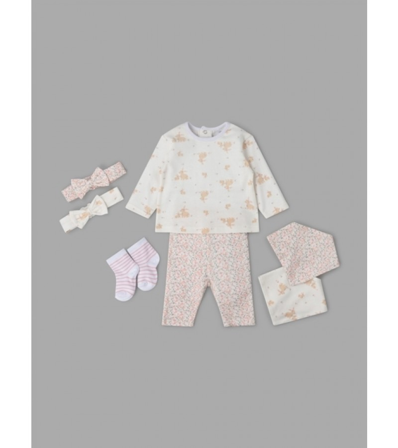 Lily & Jack 'Bunny' Baby Girls 7 Pieces Set  PACK OF 4