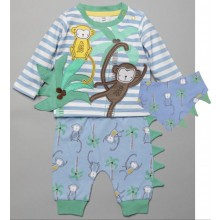 Lily & Jack 'Jungle' Baby Boys 3 Pieces Set  PACK OF 6