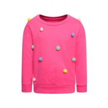 Ex Store Baby Girls Pom Pom Sweatshirt PACK OF 12