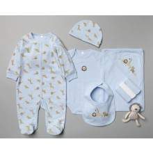 Rock a Bye Baby Boutique  'Safari' Baby Boys 10 Piece Set PACK OF 4