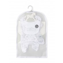 Rock a Bye Baby Boutique 'Little Toy Box'  Unisex 5 Piece Set PACK OF 4