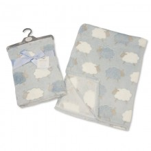 Snuggle Baby 'Sheep' Baby Boys Wrap PACK OF 5