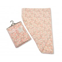 Snuggle Baby 'Rabbit'  Baby Girls Pink Wrap PACK OF 5