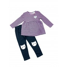 Ex Store Baby Girls Top and Leggings Set PACK OF 10