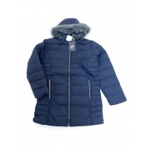 REDUCED PRICE Harvey and Jones Girls Navy Blue Coat PACK OF 8