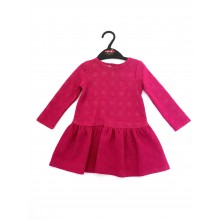 Ex Store 'Flora' Baby Girls Cerise Dress PACK OF 8