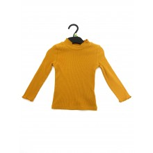 REDUCED PRICE Ex Store Girls Mustard Long Sleeved Top PACK OF 10