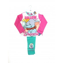 Disney 'Dumbo' Girls Pyjamas PACK OF 6