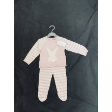 Rock a Bye Baby Boutique 'Bunny' Baby Girls Knitted Set PACK OF 6
