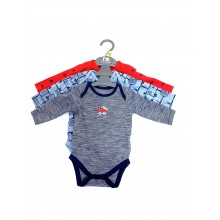 Ex M-e Baby Boys 3 Pack of Bodysuits PACK OF 7