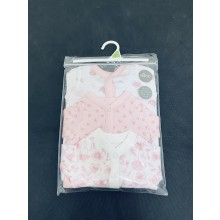 Ex Store 3 Pack of Baby Girls Sleepsuits PACK OF 10
