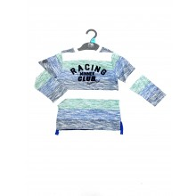 Ex M_e Boys Striped Long Sleeved Top PACK OF 6