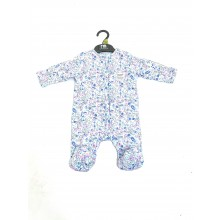Ex M_e 'Floral' Baby Girls Padded Sleepsuit PACK OF 8