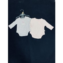 Ex M_e 2 Pack of Baby Girls Bodysuits PACK OF 9