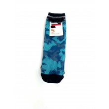 Ex Store 'Camouflage' Boys 5 Pairs of Boys Socks PACK 8