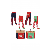 Festive Baby Girls Tights PACK OF 12