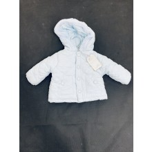 Rock a Bye Baby Boutique Baby Boys Blue Padded Jacket PACK OF 4