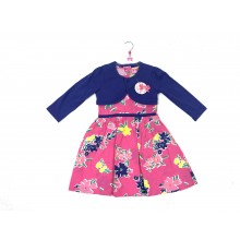 Mini Moi Girls 'Floral' Dress and Purple Bolero Set PACK OF 6