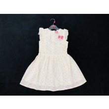 Mini Moi Girls Cream Dress PACK OF 6