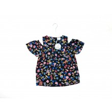 Mini Moi Girls 'Floral' Sleeved Top PACK OF 8