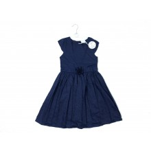 Mini Moi Girls Navy Blue Dress PACK OF 6