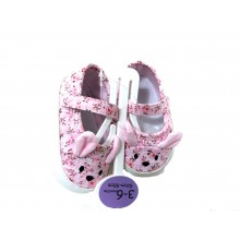 Ex Store 'Floral' Baby Girls Shoes PACK OF 15