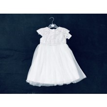Mini Moi Girls White Dress PACK OF 6