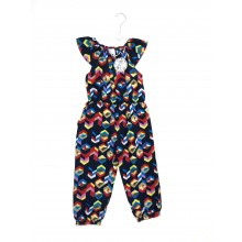Mini Moi Multi 'Bold Print' Girls Playsuits PACK OF 6