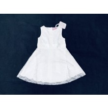 Chloe Louise Girls White Lace Dress PACK OF 6