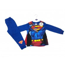 Superman Boys Pyjamas with Cape PACK OF 6