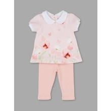Rock a Bye Baby Boutique 'Flora' Baby Girls Top and Leggings Set PACK OF 6