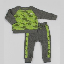 REDUCED PRICE Watch Me Grow 'Dinosaur' Boys Top and Jogging Pants Set PACK OF 6