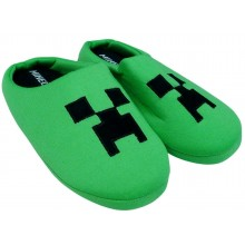 Minecraft Boys Green Slippers PACK OF 10