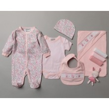 Rock a Bye Baby Boutique  'Rabbit'  Baby Girls 10 Piece Set PACK OF 4
