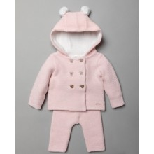 Rock a Bye Baby Boutique Baby Girls Hooded Jacket and Trouser Set  PACK OF 3