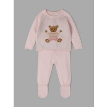 Rock a Bye Baby Boutique 'Bear' Baby Girls Knitted Set PACK OF 6