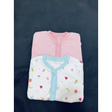 Ex Store 2 Pack of Baby Girls Sleepsuit PACK OF 6