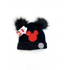 Disney Minnie Mouse Girls Black Hat PACK OF 7
